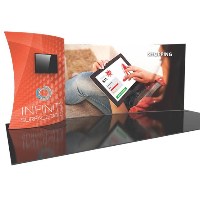 Formulate Designer Series 20′ Tension Fabric Display Kit 13
