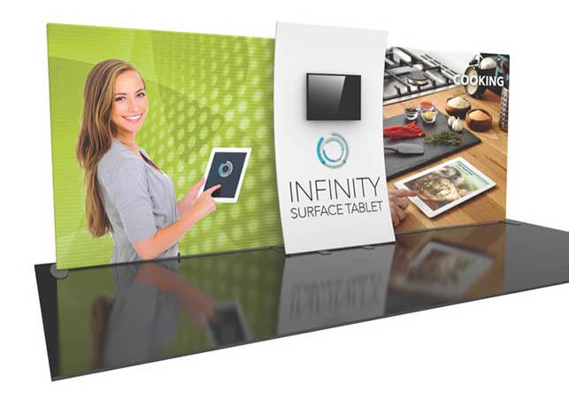 Formulate Designer Series 20′ Tension Fabric Display Kit 05