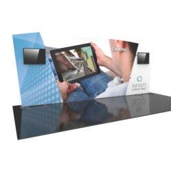 Formulate Designer Series 20' Tension Fabric Display Kit 06