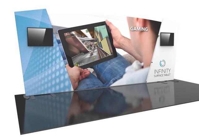 Formulate Designer Series 20′ Tension Fabric Display Kit 06
