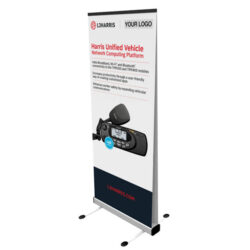 Outdoor Pull Up Retractable Banner Stand