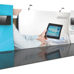 formulate designer series 20' tension fabric display kit 12