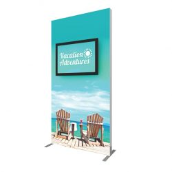 vector frame monitor kiosk