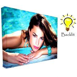 10ft backlit pop up display