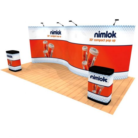 10' X 20' Pop Up Displays