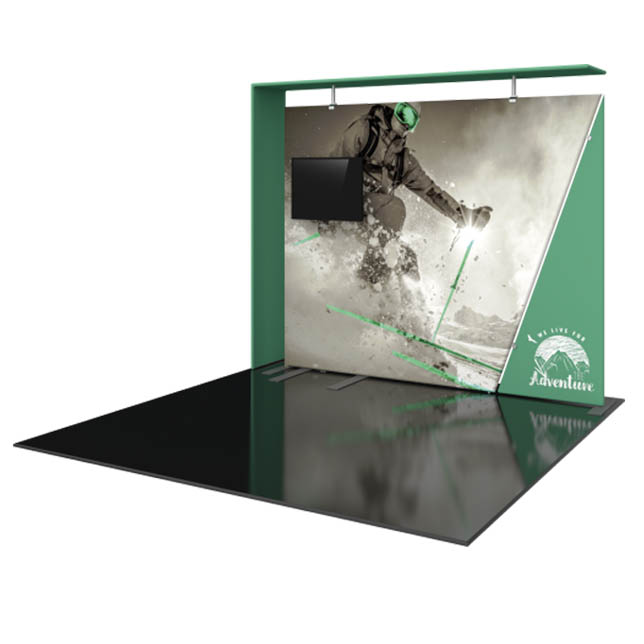 Formulate Designer Series 10′ Backwall Kit 08