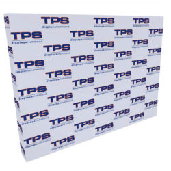 10ft tension fabric media backdrop pop up display