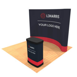 10ft pop up trade show display