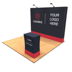 10ft Tension Fabric Pop Up Display