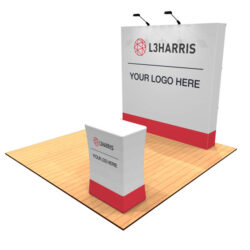 8ft Tension Fabric Pop Up Display