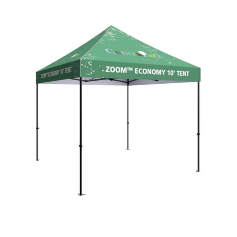 printed 10ft pop up tent