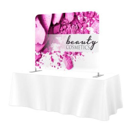 tension fabric table top display