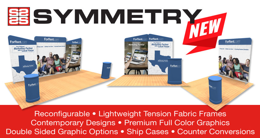 symmetry tradeshow displays