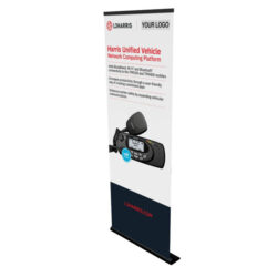 pull up retractable banner stand