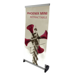 phoenix mini banner stand